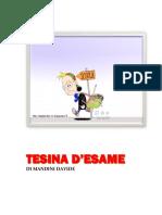 TESINA D'ESAME TERZA MEDIA