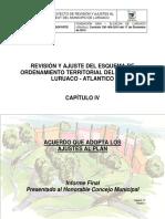 Acuerdo Esquema Ordenamiento Territorial Municipio de Luruaco - 2015