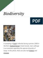 Biodiversity - Wikipedia