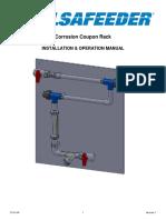 Corrosion Coupon Rack Iom