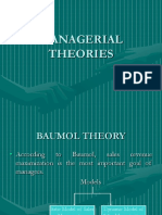 Managerial Theory