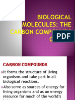 Biological Molecules Introduction and Carbs