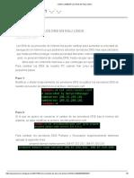 Cambio de DNS en  Kali linux