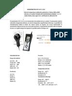 Anemómetro Pce