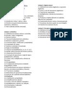 Temario Curso Propedeutico 2019