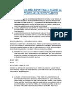 Informacion Mas Importante Sobre El Diseño de Redes de Electrificacion