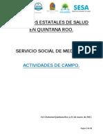 actividades de campo en servicio social