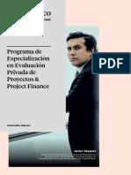 BROCHURE Projec Finance 2019