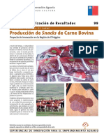 Producción snacks