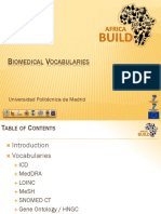 Biomedical Vocabularies1