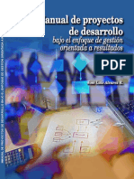 Manual de proyectos de Desarrollo.
