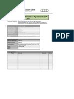 Vorlage Development Interface Agreement