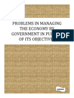 Government Objectives and problems in managing the economy.pdf