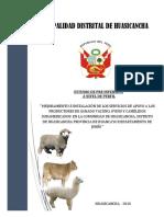 """"""" MEJORAMIENTO E INSTALACIÓN DE LOS SERVICIOS DE APOYO A LOS PRODUCTORES DE GANADO VACUNO, OVINO Y CAMÉLIDOS SUDAMERICANOS  EN LA COMUNIDAD DE HUASICANCHA, DISTRITO DE HUASICANCHA PROVINCIA DE HUANCAYO DEPARTAMENTO DE JUNÍN """".pdf"""