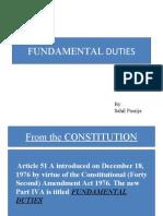 Fundamental Duties