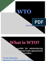 WTO ( Monika Mohanan)