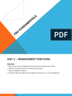 Fbo Fundamentals Units 2
