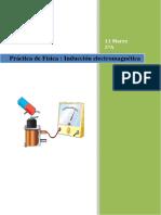Práctica Física - Inducción Electromagnética