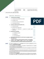 21. Hecho Imponible de Operaciones Societarias (OS)