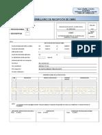 Formato de Recepción Provisional o Definitiva de Obra