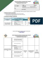 Modelo de Planificacion - Actividades Club Deportivo Meteoros Kusiy
