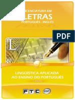 APOSTILA linguisticaaplicadaaoensinodoportugues