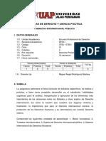 Derecho Internacional Publico Sillabous