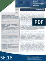 Boletín Epidemiológico del Peru