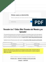 ▷ TOP 7 Chiles Más Picantes Del Mundo | Descubre al Nº1 Más Mortal