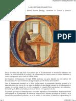 3.4. ROMERO Tallafigo. Apuntes de La Escritura Humanística.
