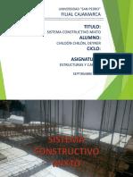 Sistema Constructivo Mixto
