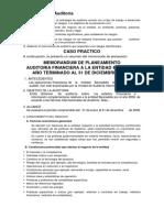 Planeación de Auditoría CASO PRACTICO.