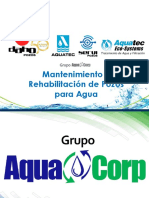 Mantenimiento y rehabilitación de pozos para Agua.pptx
