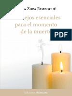 Consejos esenciales para el momento de la muerte - Lama Zopa Rimpoché