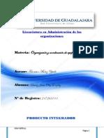 PRODUCTO INTEGRADOR Organizacion