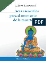 Lama Zopa Rimpoché - Prácticas esenciales para el momento de la muerte