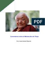Comentarios Sobre el Mahamudra de Tilopa - Lama Gendun Rinpoche