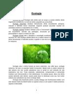 Referat Ecologie 1