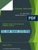 My Summer Internship [Autosaved].pptx