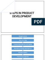 Share 'Steps in Product Development (1)