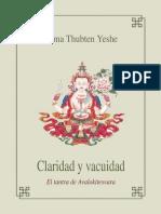 Claridad y Vacuidad - Lama Thubten Yeshe
