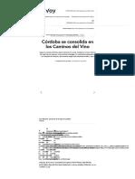 Córdoba Se Consolida en Los Caminos Del Vino