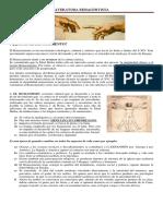Renacimiento - Teoría Contexto Histórico