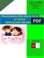 Programación Didáctica de Infantil