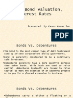 Bond and Its Valuation