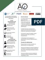Convocatoria Vigente_Revista Administración y Organizaciones