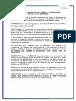 Adhesión Bolivia Mercosur Tratado