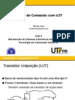 Circuito de Comando Disparo Com UJT