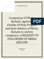 Consparacy Of Mirza