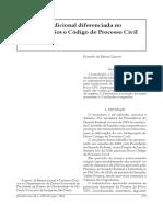 Ricardo de Barros Leonel - Tutela Jurisdicional Diferenciada No Projeto de Novo CPC